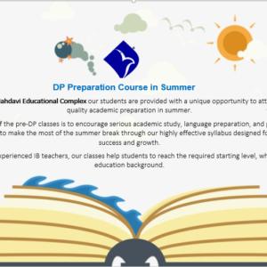 DP Preparation Course in Summer