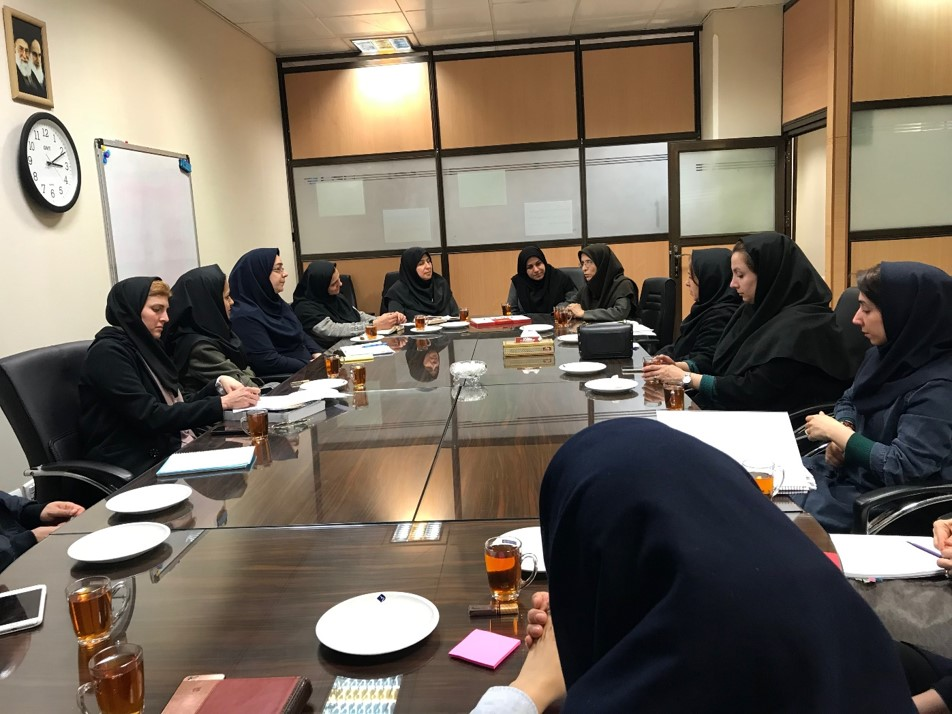 Meeting with Ms. Mahdavi